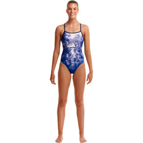 Funkita Single Strap Swimsuit Women, falling water